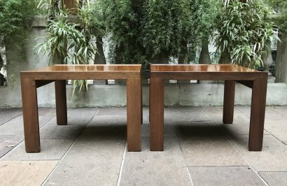 PAIR COFFEE TABLES CASSINA