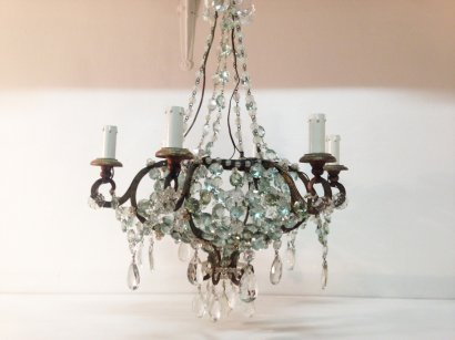 CRYSTAL DROPS PENDANT LAMP